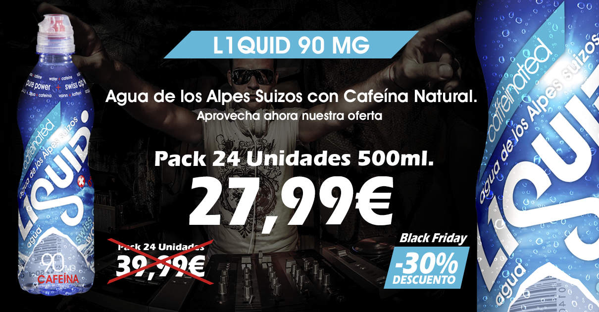 Oferta Black Friday L1quid 90 MG